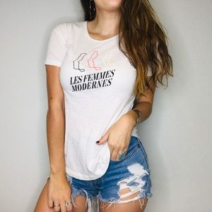 Madewell les femmes modernes face graphic tee